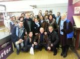 L'équipe au marché Charras